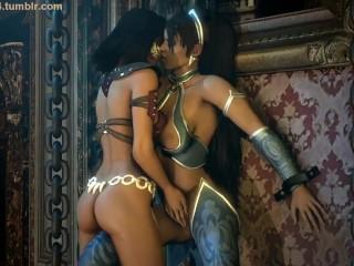 Mortal nackt kitana kombat Mortal Kombat: