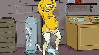 Hardcore porno Simpsonowie