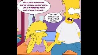 Simpsons porno bart