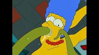Darmowe zdjęcia porno Simpsonowie kreskówek