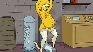 Порно на Simpsons - възрастни Lisa Simpsons прецакани от секс ...