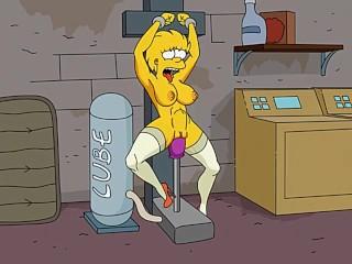 Nackt sex simpsons beim Simpsons Frau