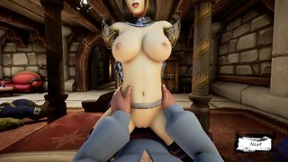 (WHORECRAFT) TAILS OF AZEROTH – JOYOUS REUNION All Sex Scenes PART 2