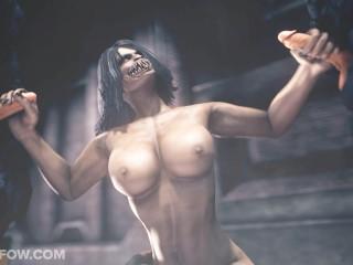 Filmy porno z kreskówkami Mortal Kombat