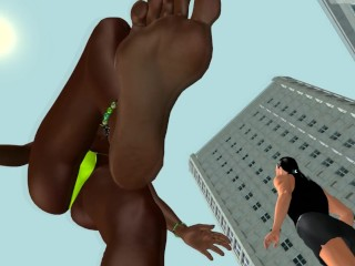 Ebony Giantess