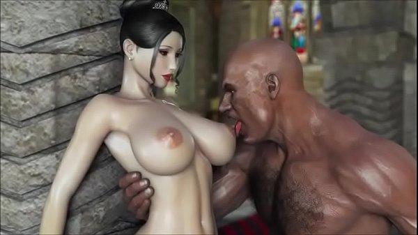 Japan Hentai Tentacle Impregnation 3D Sex