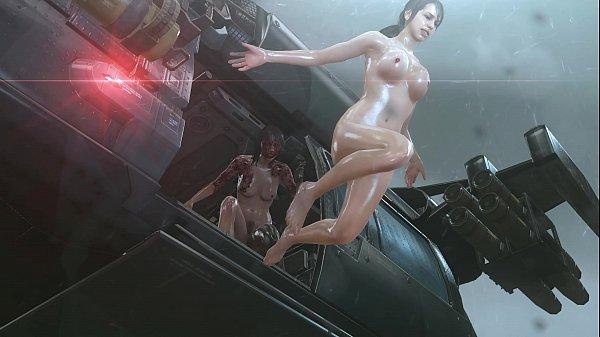MGSV Quite Nude Mod Rain Dance Scene