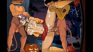 Scooby-Doo – Velma Dickley In A Sticky Sap Trap by CreamBee