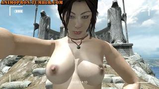 Selfie Lara's Tit-bounce