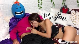 Pan Meeseeks Man występuje w swoim własnym porno! (Rick & Morty Parody)