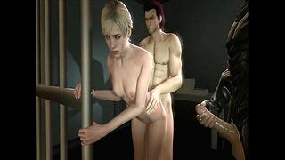Sherry Birkin Fucked On The Table Resident Evil (animacja z dźwiękiem)