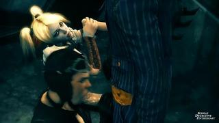 Harley Quinn + Catwoman Switch Partners [kawaiidetectiveenthusiast]
