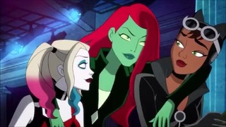 Lesbian Fuck Cartoon – Harley Quinn And Poison Ivy Rest Together – Dc Batman