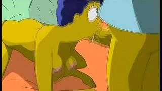 Ficken die simpsons Cartoon Bart